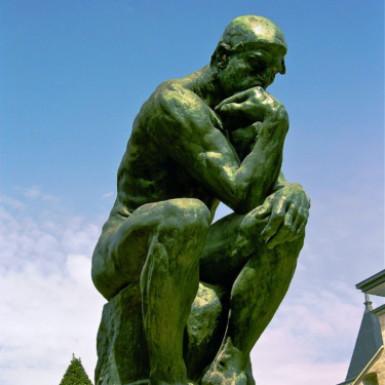 考える習慣(目)の写真