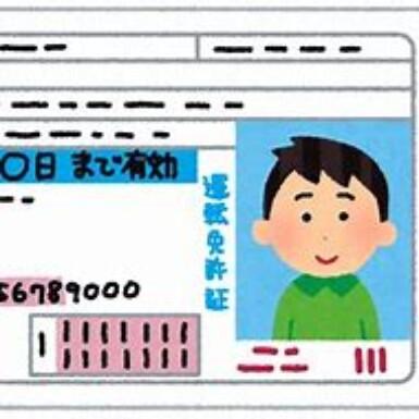 運転免許証(須)の写真
